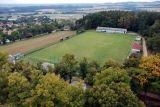 Foto z věže hřiště TJ Sokol Chotoviny
